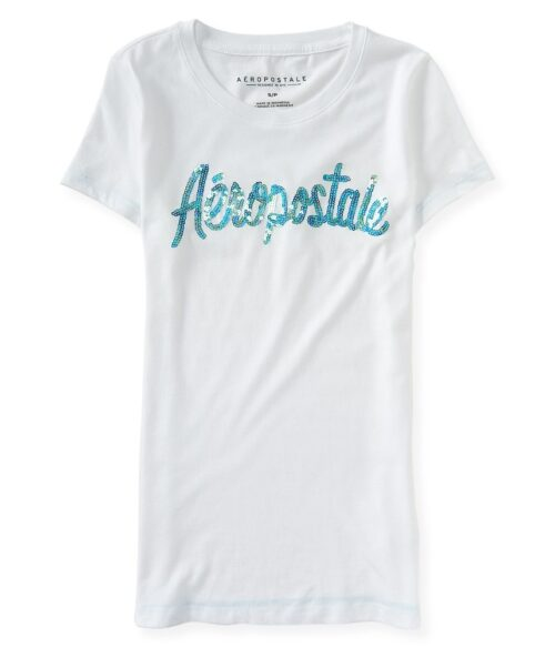 Camiseta aeropostale Graphic con lentejuelas