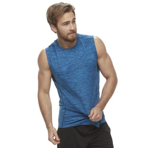 Camiseta Esqueleto Tek Gear Space-Dyed Muscle