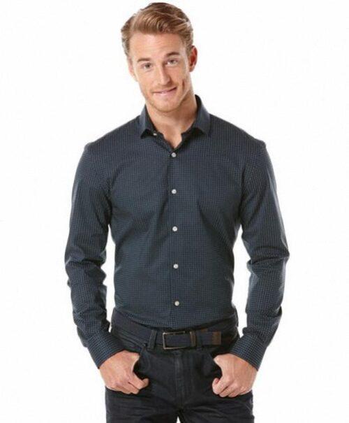 Camisa Perry Ellis Mini Dot Print