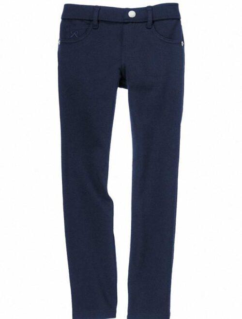 Pantalon Gymboree Ponte semiajustable azul oscuro