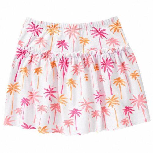 Falda short Gymboree Palm Trees