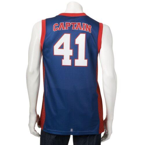Camiseta Esqueleto Marvel Capitan America 41